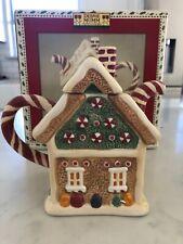 Sakura Debbie Mumm Christmas Mini Teapot Collector Series Sweet Gingerland MIB