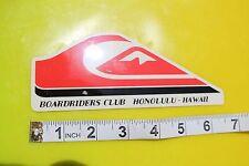 QUICKSILVER Boardriders Club Honolulu Hawaii Surfboard Surfing Decal STICKER