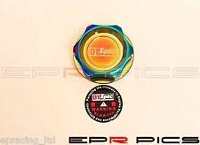 D1 Spec Oil Cap Neo Chrome for Ford / Mazda