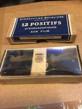 Stereofilms Bruguieres 12 Positifs Stéréoscopique. La Côté Vermeille