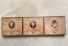 (3) Reader's Digest Musica Classicos De Todos Tiempos Verdi/Villa-Lobos/& More