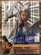2017 Star Wars High Tek Ashley Eckstein as Ahsoka Tano Autograph Auto