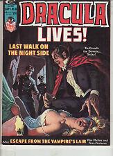 Dracula Lives #8 Vf/Nm