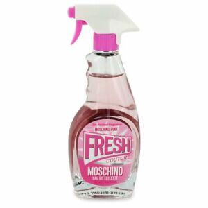 Moschino Pink Fresh Couture 3.4 oz Eau D Toilette Spray for Women Perfume TESTER