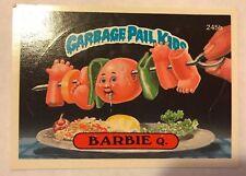 Garbage Pail Kids GPK Original Series 6 #245b Barbie Q. NON-MINT
