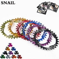 SNAIL 104bcd 30T MTB Bike Chainring Narrow-Wide Mountain Cycling Chainwheel UK
