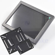 "10"" TFT LCD Color Monitor Video Audio Speaker BNC VGA HDMI Wall Mountable Screen"