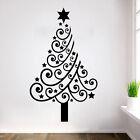 Christmas Tree Mural Removable Wall Sticker Art Vinyl Decal Shop Xmas Home Decor
