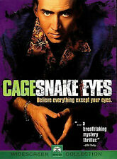 Snake Eyes Nicholas Cage Note: Disc Only with Cover Art (No case)