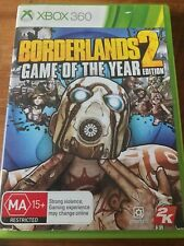BORDERLANDS 2 GAME OF THE YEAR EDITION XBOX 360 XBOX ONE ORIGINAL AUS PAL VGC
