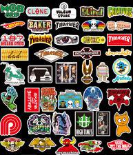 Skateboard Bike Stickers 100 PCS/LOT DC VANS es INDEPENDENT SPITFIRE VOLCOM