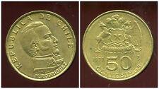 CHILI  50 centesimos  1971