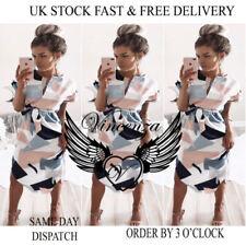 Boho Polyester Geometric Dresses for Women