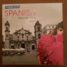 NEW Pimsleur Unlimited Level 1 SPANISH Language Course 15+ Hour 30 Lessons CDROM