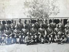 More details for 2 original 1920s british indian army photos 92nd punjabis quetta karachi india