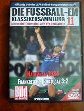 Fußball DVD EM Klassikersammlung 11 Halbfinale 1984 Frankreich-Portugal 3:2 n.V.