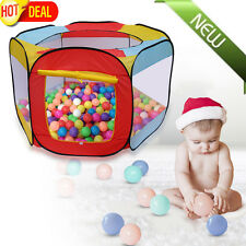 Children Kids Ball Pit Pool Game Indoor Outdoor Folding Portable Play Tent OY
