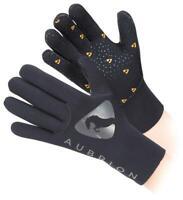 Shires Aubrion Neoprene Yard Gloves in Black