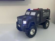 """6"""" Fast Lane Light And Sound Swat Fast Lane Tactical Vehicle"""