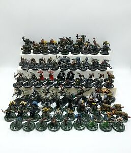 Lot of 94 Mage Knight Figures Featuring REGAL DRACONUM - VTG 2000-2002