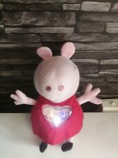 Peppa Pig Musical Bedtime Plush Toy Lights And Sounds.