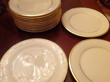 Lenox Eternal Dimension Collection China Salad Plates Set of 16