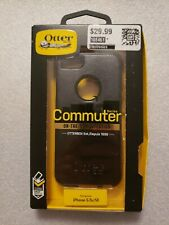 OTTERBOX IPHONE 5/5S/SE COMMUTER BLACK - New Opened Pack