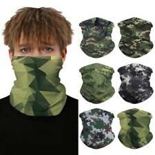 Motorcycle Balaclava Neck Gaiter Bandana Scarf Face Mask Mouth Cover Headwear