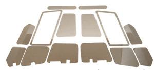 Ford Focus ST 225 PFL Under bonnet mirror plate trims.