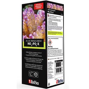 Red Sea NO3:PO4-X 1 Liter Algae Management Supplement Reef Safe NO3 PO4 X