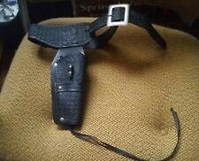 1960's MATTEL FANNER LONE RANGER COWBOY CAP GUN HOLSTER METAL BUCKLE & BULLET