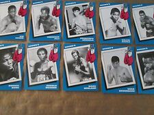1990 Brown's Boxing 72 Card Set LOADED