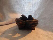 "Vintage Plaster Hands Sculpture 5"" Unusual"