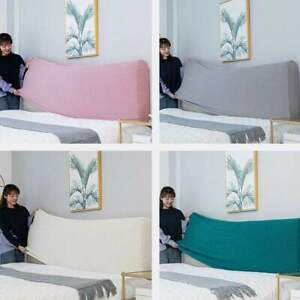 Headboard Covers Soft Dust Back Protective Elastic Cloth All Wrapped Headboard
