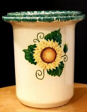 Sunflower Ceramic Dip Chiller Server