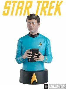 Eaglemoss Star Trek The Original Series Doctor Leonard H. Bones McCoy Bust New
