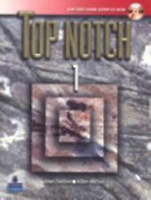 Top Notch 1 with Super CD-ROM by Joan M. Saslow and Allen Ascher (2006,...