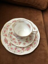 VTG Trio Queens Fine Bone China By Rosina China Co. Mother  Pattern England.