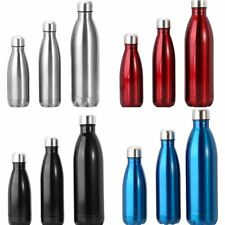 Stainless Steel Vacuum Insulated Water Bottle Flask Thermos Double Wall Drink 1L