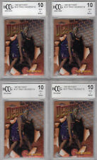 4) 1997 98 Topps Finest Rcs TRACY MCGRADY tmac Rookie card Rc Lot BGS BCCG 10
