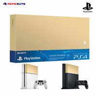 Sony Ps4 Custom Faceplate Genuine Sony PlayStation 4 Faceplate HDD Cover Gold