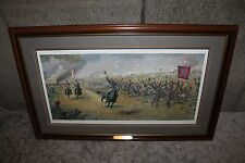 DALE GALLON REMEMBER OLD VIRGINIA LITHOGRAPH SIGNED NUMBERED 11/15 FNPG FRAMED
