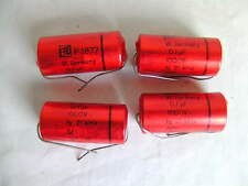 4 x ERO Papierkondensator 0,1µF 1000V  Paper Capacitor 0,1 µF 1000V geprüft NOS