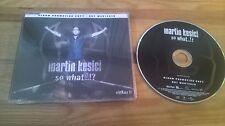 CD Pop Martin Kesici - So What (14 Song) Promo ISLAND sc