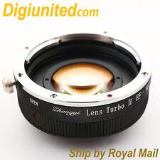 Zhongyi Lens Turbo II Reducer Booster Canon EOS EF to Sony E Adapter NEX 7 A6000