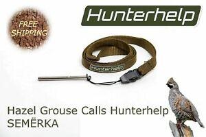 Hazel Grouse ruft Hunterhelp SEMERKA an