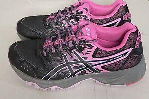 ASICS Women's Gel-Sonoma 3 Trail Running Athletic Shoes Purple Black Grey Sz 8