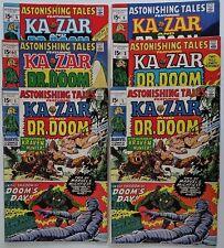 Astonishing Tales - 1970 - Lot - Issues: #1,1-3, 5-7, 13, 16, 17, 21-Wally Wood