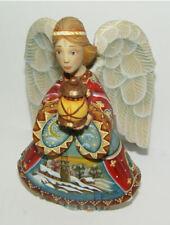 G. Debrekht Artistic Studios Guiding Light Angel #552322 w Box COA Derevo