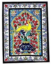 Orientalische Fliesen Handbemaltes Fliesenbild Orient Mediterrane Fliesen 45x60